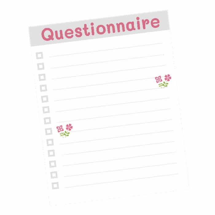 Questionnaire fleurs de Bach